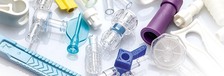 Unsterile Komponenten für Medizinprodukte